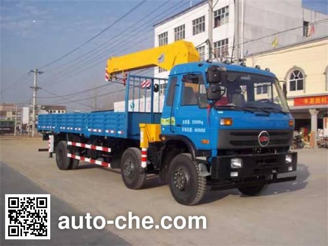 CHTC Chufeng HQG5258JSQGD4 truck mounted loader crane