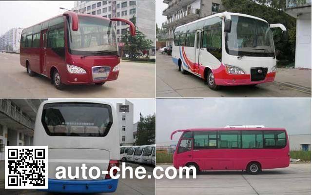 楚风牌HQG6750EA4客车