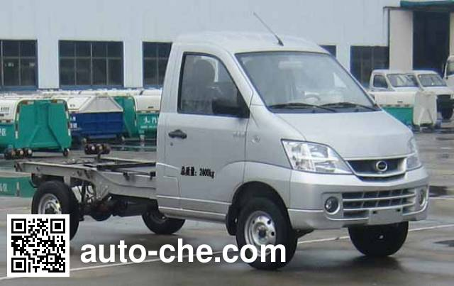 Heron HRQ1020BEV electric truck chassis