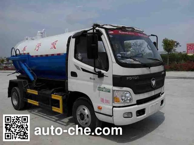 Rixin HRX5080GXW sewage suction truck