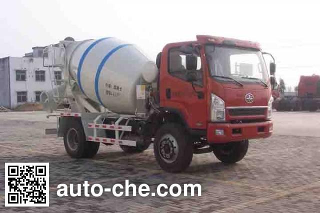 日昕牌HRX5160GJB混凝土搅拌运输车