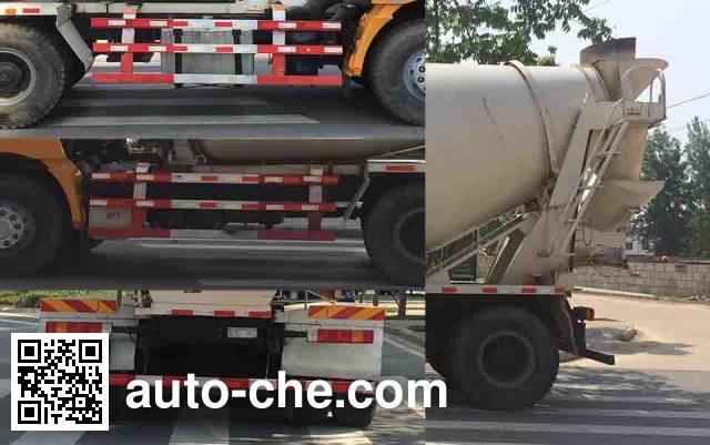 日昕牌HRX5250GJB38DL混凝土搅拌运输车