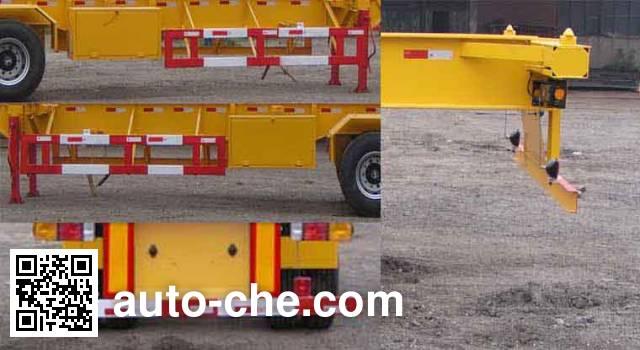 Sanshan HSB9401TJZ container transport trailer