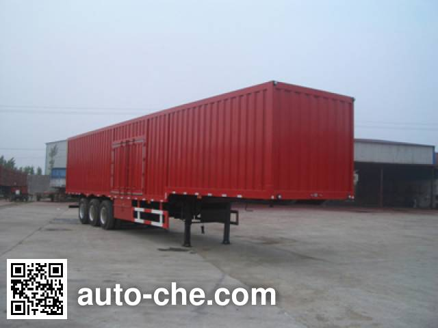 Sanshan HSB9402XXY box body van trailer