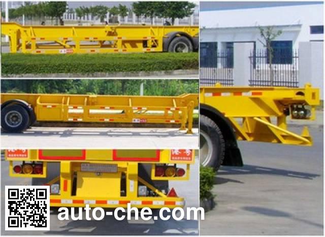 Gangyue HSD9352TJZG container transport trailer