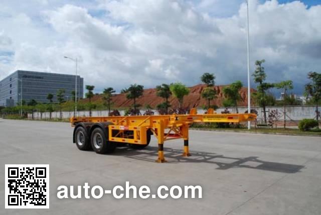 Gangyue HSD9353TJZG container transport trailer