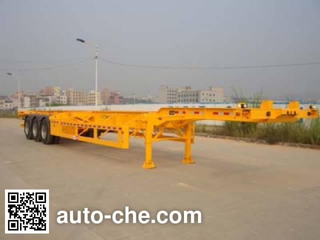 Gangyue HSD9370TJZG container carrier vehicle