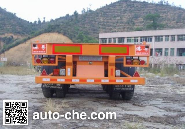 Gangyue HSD9373TJZG container transport trailer