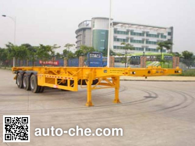 Gangyue HSD9380TJZG container carrier vehicle