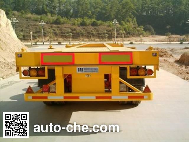 Gangyue HSD9400TJZG container transport trailer