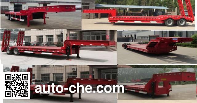 鸿盛业骏牌HSY9350TDP低平板半挂车