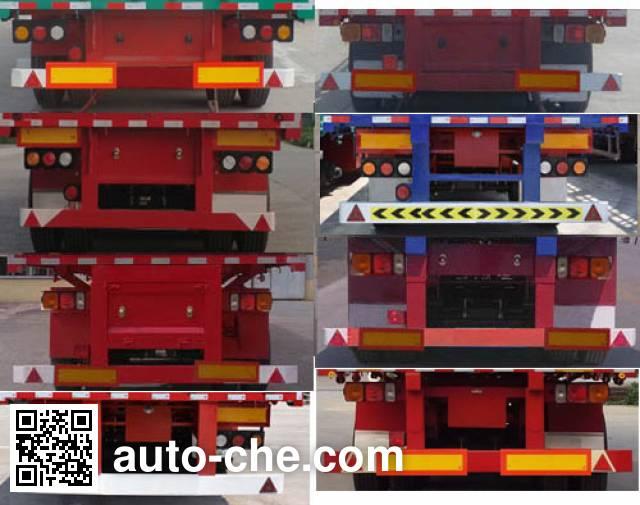 Hongsheng Yejun HSY9402ZZXP flatbed dump trailer