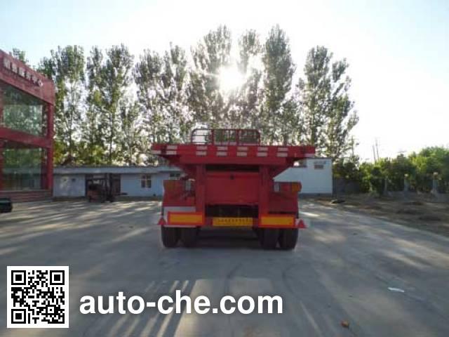 Hongsheng Yejun HSY9401ZZXP flatbed dump trailer