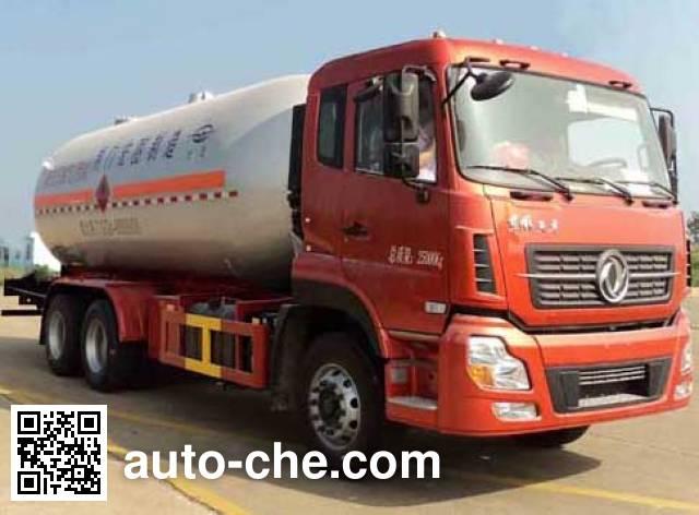Hongtu HT5251GYQ3D liquefied gas tank truck