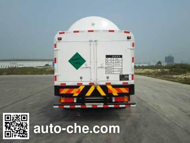 Hongtu HT5312GDY cryogenic liquid tank truck
