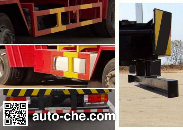 Hongtu HT5312GYQ3C liquefied gas tank truck