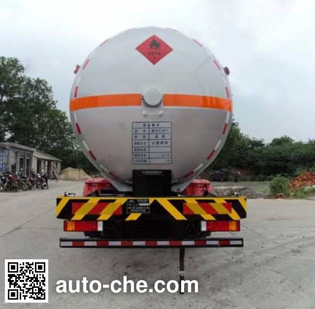 Hongtu HT5312GYQ3D1 liquefied gas tank truck