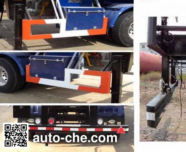 宏图牌HT9340GYQA液化气体运输半挂车