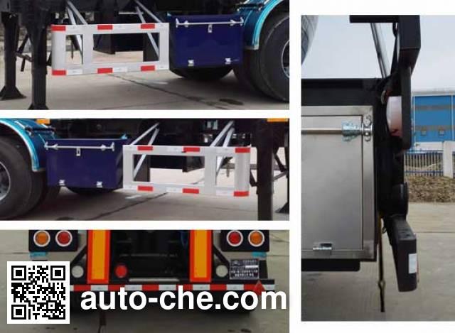 Hongtu HT9400GFW corrosive materials transport tank trailer