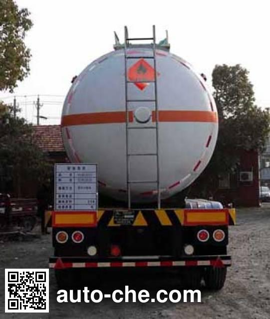 宏图牌HT9400GRY1易燃液体罐式运输半挂车