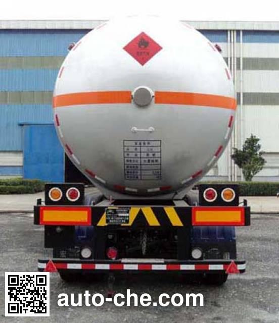 Hongtu HT9400GRY2 flammable liquid tank trailer