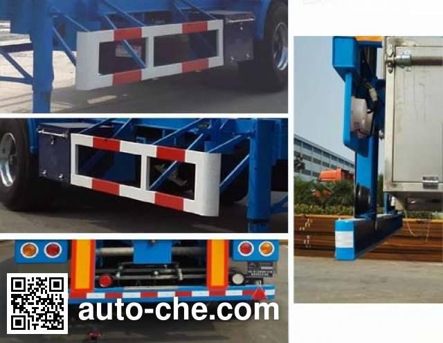 Hongtu HT9400GRY3 flammable liquid tank trailer