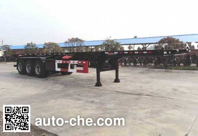 Hongtu HT9400TJZA container transport trailer