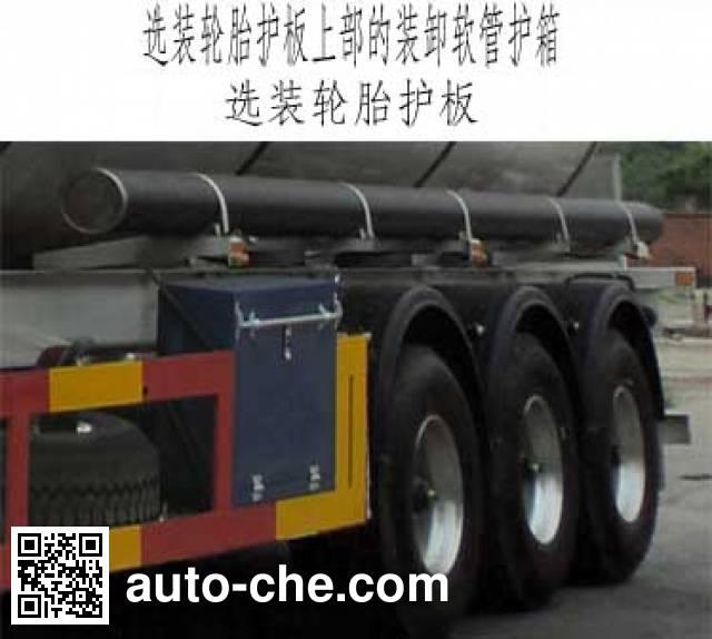 宏图牌HT9401GRY1易燃液体罐式运输半挂车