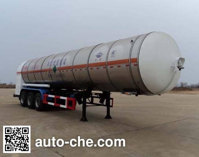 宏图牌HT9402GDY2低温液体运输半挂车