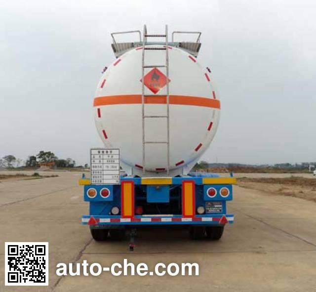 宏图牌HT9402GRY易燃液体罐式运输半挂车