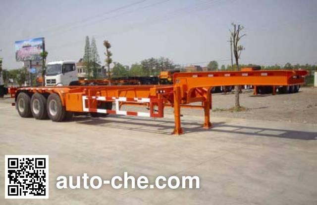 Hongtu HT9402TJZ container transport trailer