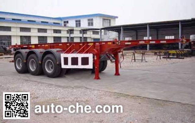 Hongtu HT9404TJZ container transport trailer