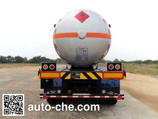 宏图牌HT9405GRY易燃液体罐式运输半挂车