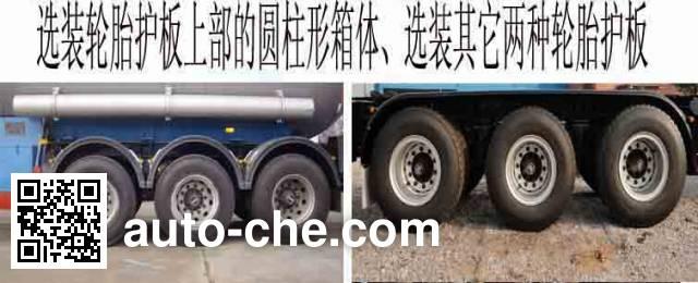 Hongtu HT9407GYQ2B liquefied gas tank trailer
