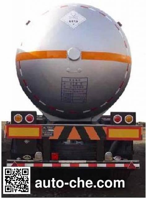 Hongtu HT9407GYQ2D liquefied gas tank trailer