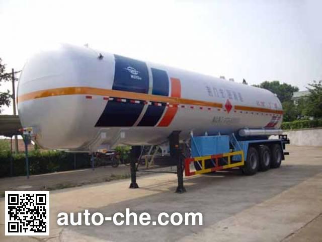 Hongtu HT9408GYQ4A liquefied gas tank trailer
