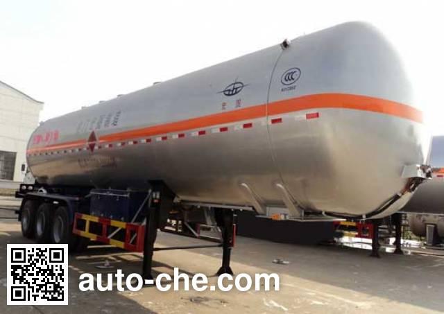 Hongtu HT9408GYQ6C liquefied gas tank trailer