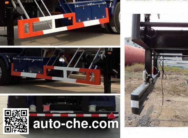 Hongtu HT9409GYQA4 liquefied gas tank trailer