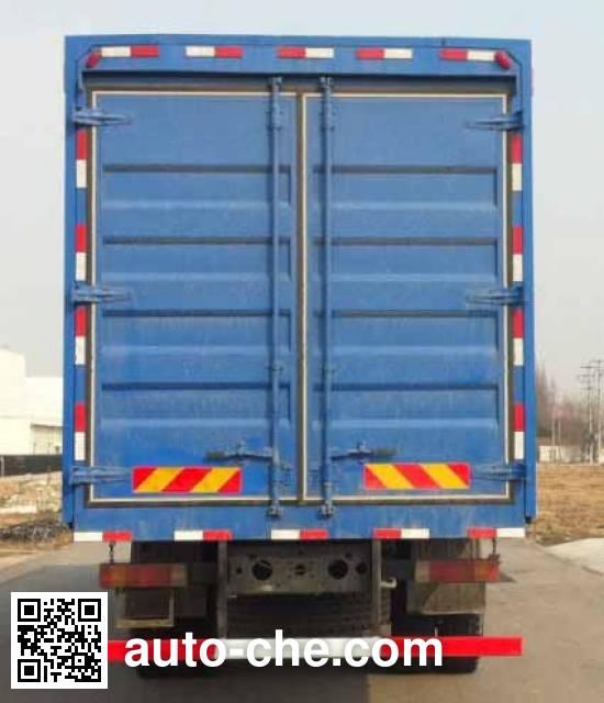 Liaogong HTL5250XYK4 wing van truck