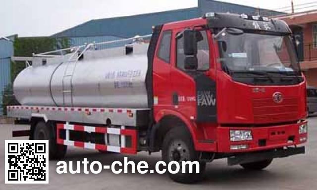 鸿天牛牌HTN5160GNY鲜奶运输车