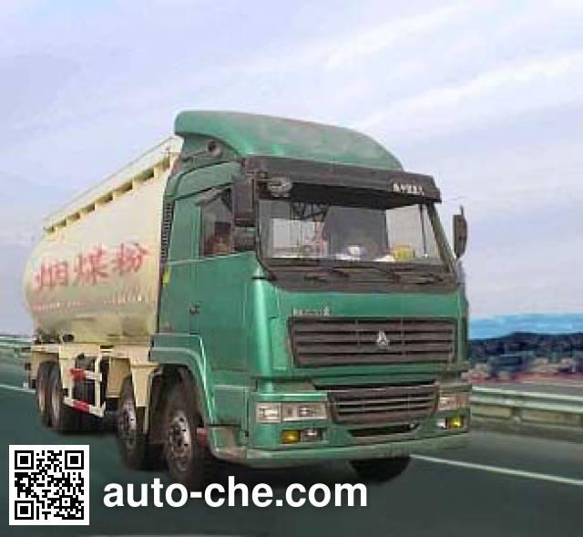 鸿天牛牌HTN5310GFL粉粒物料运输车