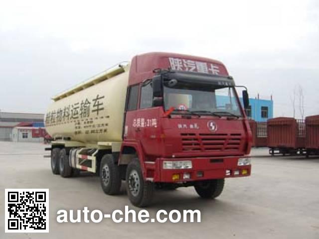 鸿天牛牌HTN5312GFL粉粒物料运输车