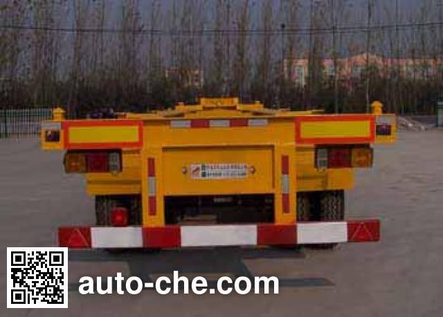 Hongtianniu HTN9371TJZ container transport trailer