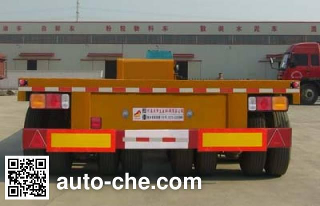 鸿天牛牌HTN9400TDP低平板半挂车