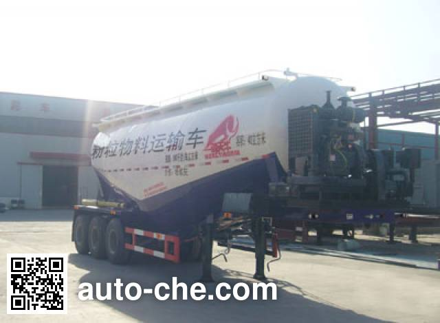 Hongtianniu HTN9404GFL medium density bulk powder transport trailer
