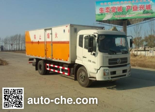 Yigong HWK5160XQY explosives transport truck