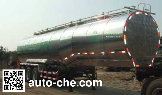 Yigong HWK9400GYS liquid food transport tank trailer