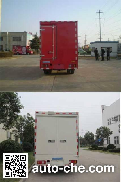 Bainiao HXC5044XWT mobile stage van truck