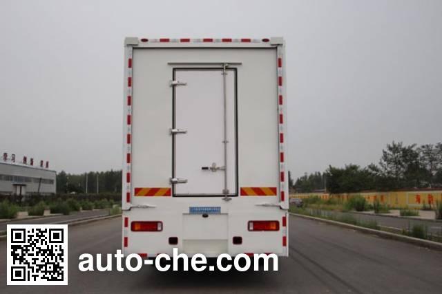 Bainiao HXC5250XWT mobile stage van truck