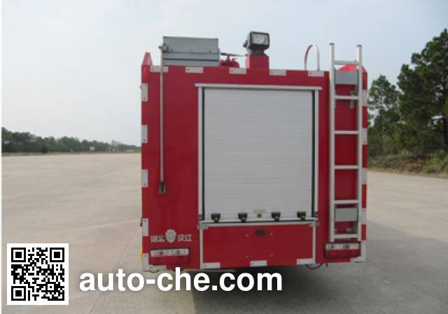 Hanjiang HXF5100GXFPM35/D foam fire engine